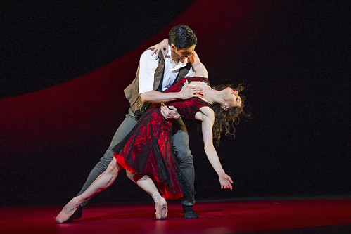 <em>Viscera / Afternoon of a Faun / Tchaikovsky Pas de deux / Carmen</em> relayed live to cinemas around the world on 12 November 2015