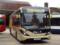 *** FIRST DAY IN SERVICE*** YX65 PYD (37410) (brendan315) Tags: new city day first kings 200 service winchester brand mmc reg branding stagecoach 65 enviro enviro200mmc e200mmc 200mmc 65reg