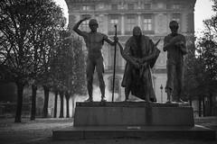 Jardin des Tuileries - Automne 2015 (Sbastien Bruzzo) Tags: autumn bw paris automne louvre tokina publicgarden jardindestuileries tuileriesgarden bokina