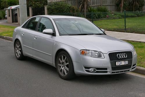 2005 Audi A4 (8EC) 2.0 TFSI quattro sedan