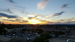 Sunset from the Bell Tower Bar