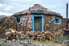 Village hut in Sani Pass, Lesotho, Africa. (Remsberg Photos) Tags: world africa travel usa home outdoors village handmade wanderlust adventure explore hut tradition shelter lesotho roundhouse remotelocation thatchroof sanipass africanculture stonematerial world|africa