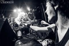 BATTLE BEAST (Nat Mora Domingo -Enmede-) Tags: show bw music metal photography lights tour gig nat singer drummer keyboards heavy guitarist conciertos batera salaarena battlebeast enemede madnesslive nooralouhimo