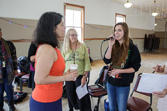 Maucha Adnet leads vocalist class at 2015 Port Townsend Jazz Workshop (Centrum Foundation) Tags: usa wednesday jazz workshop porttownsend wa centrum vocalists 2015 mauchaadnet jazzporttownsend ellenjames elliejames