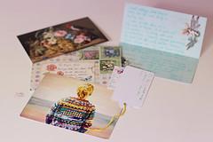 Mutlu Olmak... (Beyza G.) Tags: postcard postcrossing stationery snailmail mektup kartpostal postcrosser happypostcrossing