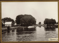 Fox River, Princeton Locks, 1913