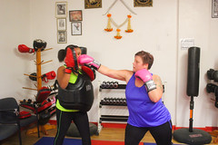 Turkey Burn-off (shull.winston) Tags: turkey michigan boxing fitness midland burnoff coliseumboxing