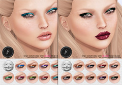 Shimmer Eyeshadow for Lelutka (Shakeup!) Tags: secondlife shakeup theshowroom meshhead applier lelutka