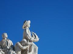 Cristoforo (NapoleonIsNotDead) Tags: sky portugal lisboa famous statues colombo cristoforo padrao descobrimientos