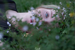 Wonderful eyes (Emanuele Brilli) Tags: eyes occhi occhio eye blu blue celeleste lightblue light face faccia volto portrait ritratto girl ragazza donna woman blond blondy bionda capelli hair nature natura flower flowers fiore fiori fashion people persone persona nikon d7100 7100 dx 50 art sigma 14 f14 mouth bocca tuscany toscana italia italy firenze florence