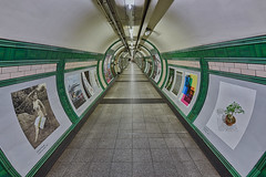Embankment tunnel (sarah_presh) Tags: embankment tube station tunnel underground london england hdr nikond750 posters