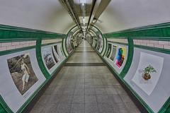 Embankment tunnel (sarah_presh) Tags: embankment tube station tunnel underground london england hdr nikond750 posters