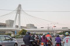 Taichung City, Taiwan (Quench Your Eyes) Tags: taichungcity zhongzhengrd asia biketour bridge taiwan travel