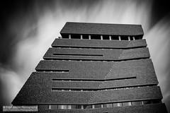 Bricks & Vapour (Fred-Adams) Tags: architecture london museum southbank tatemodern bricks city linear lines longexposure modernarchitecture moderndesign monochrome urban