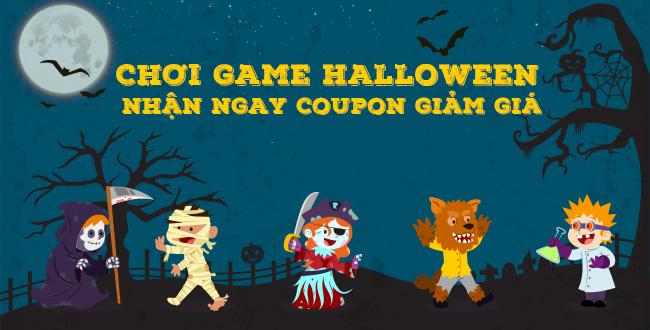 Chơi game halloween - Nhận ngay Coupon