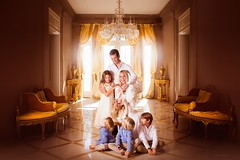 The Trump Family, New York (Jennifer Blakeley) Tags: family trump kids fun silly gold light dreamy magical