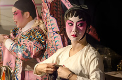 Chinese Opera Backstage  (leonlee28) Tags: chineseopera chineseoperabackstage opera cantoneseopera backstage chinese nineemperorgodsfestival musicaltheater chinesemusicaltheater theater photography people peoplearoundus friendlyfaces actor actress face facepainting makeup professional art performer naturallighting facialexpression indoor leonlee leonlee28 oct2016  towbohkeongtemple ipoh perak male female