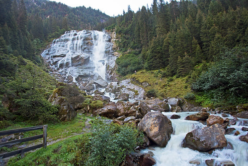 Grawa waterfall, Stubai Alps, Austria