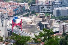 Guggenheim Bilbao (Rainer ❏) Tags: guggenheimmuseum architektur arquitectura architecture bilbao baskenland provinzbizkaia bayofbiscay biskaya ngc españa spanien spain espagne color sommer2016 rainer❏