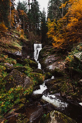Triberger Wasserfälle (Kristin Fraley) Tags: triberger wasserfälle triberg waterfall germany autumn fall schwarzwald landscape outdoors black forest blackforest canon 1018mm