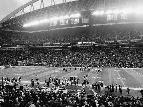 Seahawks game in Seattle, BCIT Journalism, Trevor Knapp