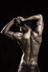 Saad LB #15 (Kazi_Kamrul_Abid) Tags: man male model body bodybuilder fitness muscular muscle workout