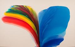 Phenomena Blue Held Over, 1975 (Jonathan Lurie) Tags: jenkins art museums modern museum wisconsin paul milwaukee mam painting artinmuseums milwaukeeartmuseum milwaukeewisconsin modernart pauljenkins unitedstates us