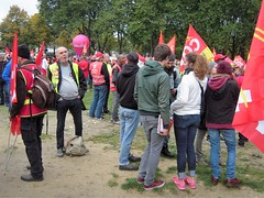 SOLIDAIRES (marsupilami92) Tags: frankreich france hautsdefrance somme 80 amiens goodyear syndicat cgt solidaires soutien manifestation justice appel