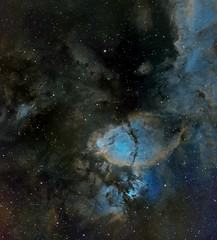 Fish Head Nebula - IC 1795 (Manifest Stephanie) Tags: night sky deep astrophotography astronomy televue qsi qhy takahashi nebula narrowband seattle