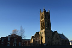 St Mark's Church, Preston (Tony Worrall) Tags: preston north northwest lancs lancashire england northern uk update place location visit area county attraction open stream tour country welovethenorth unitedkingdom spire church steeple st architecture buildings built sky skyline tower stmarks ashton town outside outline stmarkschurch