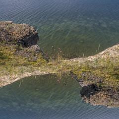 by the sea (Seerin Kama) Tags: sea shore coast water cliff rock stone waves landscape