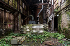A visit to an old abandoned pottery.  #abandoned #derelict #ruins #pottery #mabrography #nikondD750 #grime #dereliction #urbex #explore #urbanexplore (martyn.brough1) Tags: nikondd750 abandoned mabrography urbex dereliction derelict urbanexplore explore grime pottery ruins