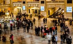 Foot Traffic, Grand Central Terminal (sapere18) Tags: 2016 grandcentralterminal manhattan newyork november autumn