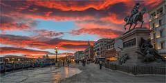 Venice sinking in the twilight. (LDLS17) Tags: venice venecia twilight crepsculo marea tide