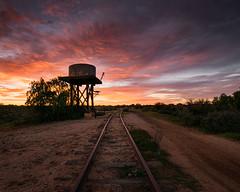 Silverton Railway (Trevor Tutt) Tags: silveron outback nsw australia railway sunrise sky clouds colour sun trevortutt sony a7r2 brokenhill