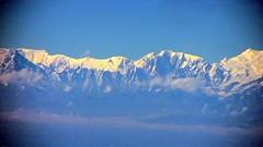 NEPAL, Flug über den Wolken entlang dem Himalaya-Gebirge von Varanasi nach Kathmandu , 15001/7635 (roba66) Tags: nepalflugentlangdemhimalayagebirge reisen travel explore voyages roba66 nepal asien asia südasien himalaya gebirge mountain berge range naturalezza mountains montana felsen rock rocks gletscher eis ice