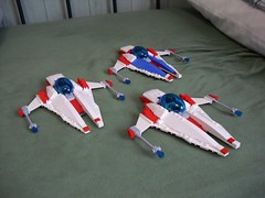 Bocian - Strike Fighter (Śląski Hutas) Tags: lego bricks aircraft space futuristic missiles scifi poland polska starfighter