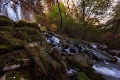 Otoo en Ason (Caramad) Tags: agua autumn landscape coladecaballo cascada cantabria color ocre ason otoo rocks longexposure montaa verde