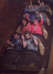 Magic Kingdom (Elysia in Wonderland) Tags: disney world orlando florida elysia holiday 2016 splash mountain pete lucy becca clinton amy