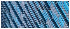 Metropolitan Architecture (Andy J Newman) Tags: london england unitedkingdom gb art pattern dockland apartment lines colorefex nikon d500