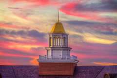 Caruth Hall Cupola at Sunset (Ian Aberle) Tags: 2ev 2016 3xp canoneos7d copyright©2016ianaberle cupola dallas hdr lightroom photomatix smu southernmethodistuniversity tthdr texas architecture building campusbeauty detailsenhancer exterior realistichdr sunset tonemapped unitedstates exif:isospeed=400 exif:aperture=ƒ80 camera:make=canon exif:lens=ef28135mmf3556isusm geo:state=texas geo:lat=32841802777778 camera:model=canoneos7d geo:country=unitedstates geo:lon=96781408333333 exif:focallength=135mm geo:city=dallas geo:location=parkcities exif:model=canoneos7d exif:make=canon kitlens