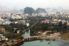Diecai Hill 叠彩山 (RH&XL) Tags: guilin 桂林 广西 guangxi china lijiang diecai hill 叠彩山