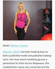A preview of the @modelmayhem #modelingnewsroundup article I'm featured in. #model #mua #fitness #killerkurvesshapewear #blondes #glamourgirljessica #publishedmodel #mmnews #modelmayhem (Glamour Jessica) Tags: publishedmodel blondes mua model saunavest killerkurvesshapewear glamourjessica fitness instagramapp square squareformat iphoneography