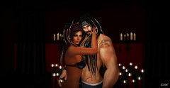Tango 2 (Soulful Moments Photography SL) Tags: secondlifephotography secondlifeavatar secondlifeportrait secondlife sexypeopleofsecondlife love inlove beautifulpeople candles romantic