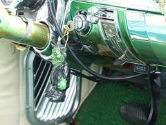 1955 Chevy CarArt (bballchico) Tags: 1955 chevrolet chevrolet210 arlingtoncarshow carshow 1950s toxicgreenkiller davidobee dragcar 206 washingtonstate arlingtonwashington trifive