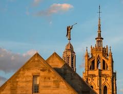 Kirk Sunset (Jon Ariel) Tags: kirkinthehills bloomfieldhills michigan church