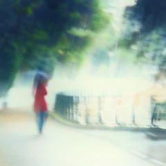 (bobbat) Tags: rain umbrella blur