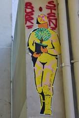 Le Soldat Inconnu_5100 passage Boiton Paris 13 (meuh1246) Tags: streetart paris paris13 lesoldatinconnu passageboiton butteauxcailles soldat casque arbre