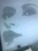 rostro (elartistadelamaquinadeescribir) Tags: mujer rostro dibujar dibujo maquinadeescribir mecanografia arte artesanias manualidad diseño