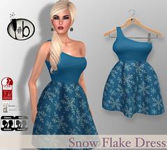 #bubbles FREE DECEMBER GROUP GIFT (candi1223) Tags: free freebie fashion secondlife sl bubbles snowflake blue mesh slink maitreya lelutka